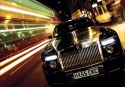 Rolls royce at night